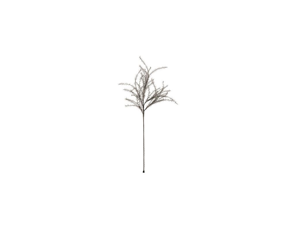 Branche Fines Feuilles Mousse Eva Gris Fonce (6652)